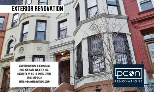Exterior Renovation | DCON Renovations & Remodeling | (718) 628-3428