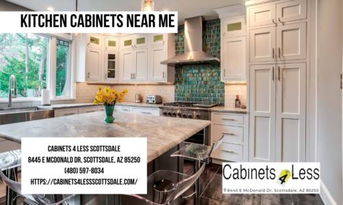 Kitchen Cabinets near me | Cabinets 4 Less Scottsdale | (480) 597-8034